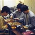 110 関西将棋会館棋士室での棋譜調べ